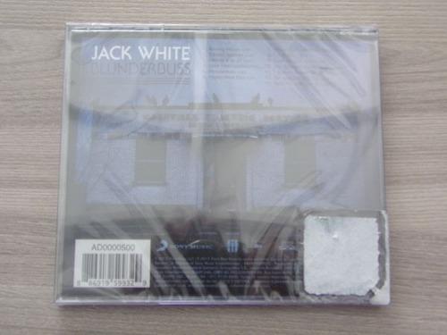 cd jack white - blunderbuss