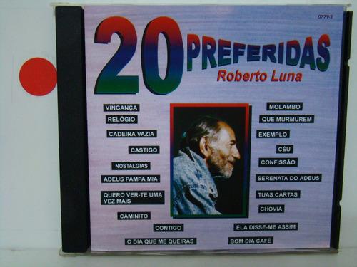 cd - roberto luna - 20 preferidas
