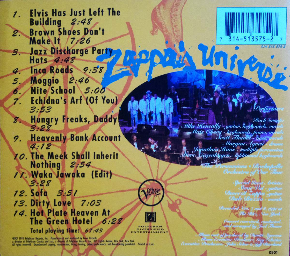 Zappas Universe