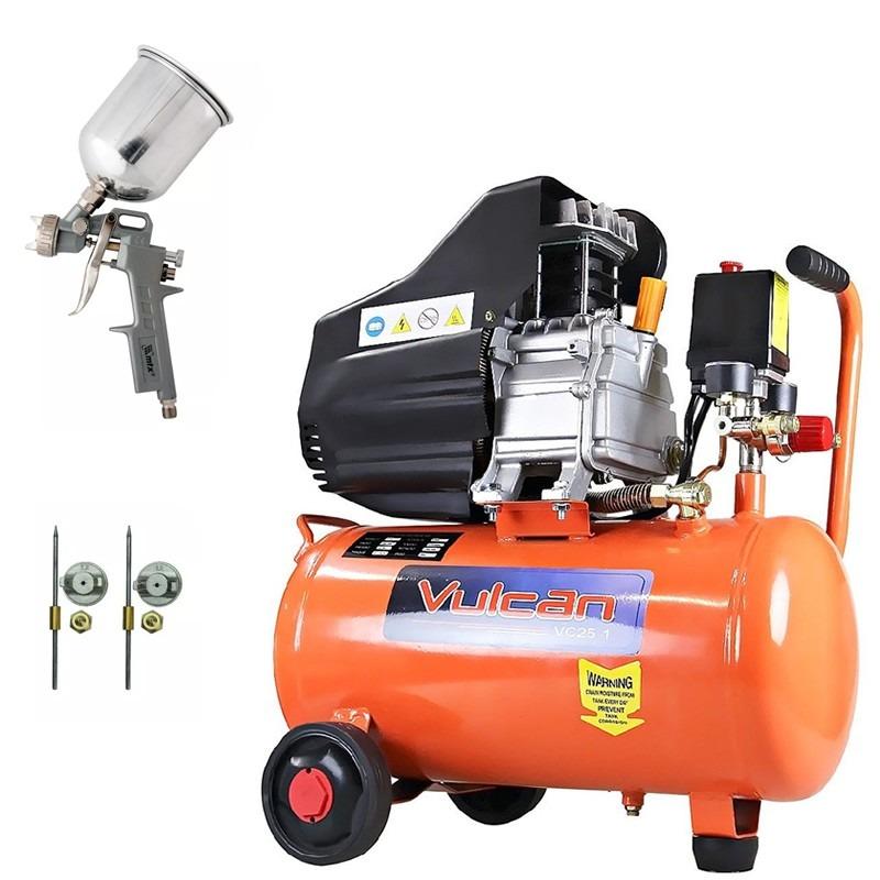 Compressor ar 110v 2 5hp vc 25 pistola pintura mtx - Pistola pintura compresor ...