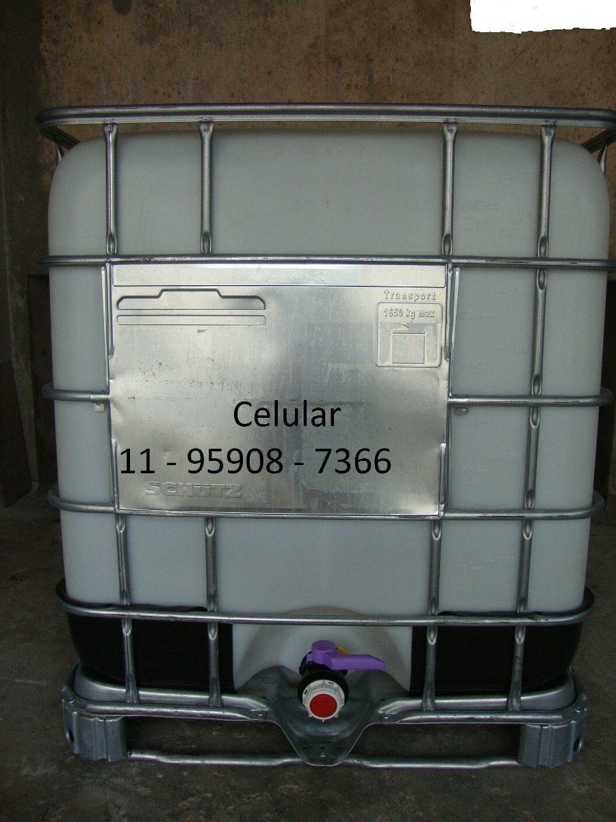 Container ibc 1000 litros r 270 00 em mercado livre Estanque ibc 1000 litros
