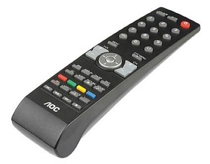 controle remoto tv aoc lcd led para cr4603 le32w157. Black Bedroom Furniture Sets. Home Design Ideas