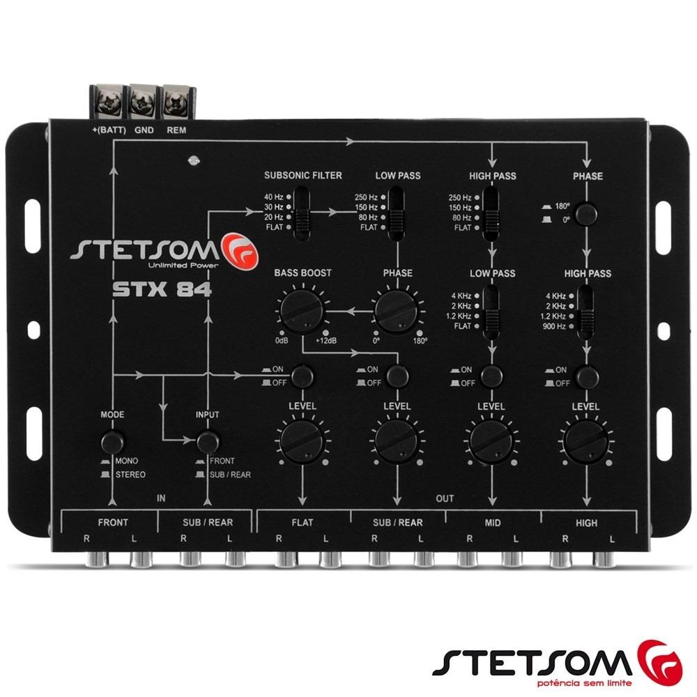 Crossover Stetsom - Stx84 - 4 Vias - R$ 299,00 em Mercado Livre