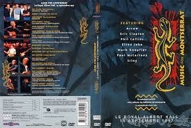 dvd music for montserrat