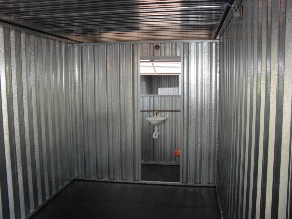 Escritorio Movel Com Banheiro Container R$ 12.300 00 em Mercado  #736358 1024x768 Banheiro Container Brasilia
