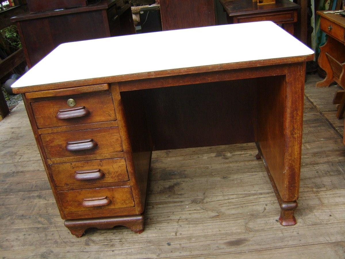Escrivaninha Antiga Madeira Imbuia / Só Pra Curitiba R$ 310 00 em  #A26829 1200x900
