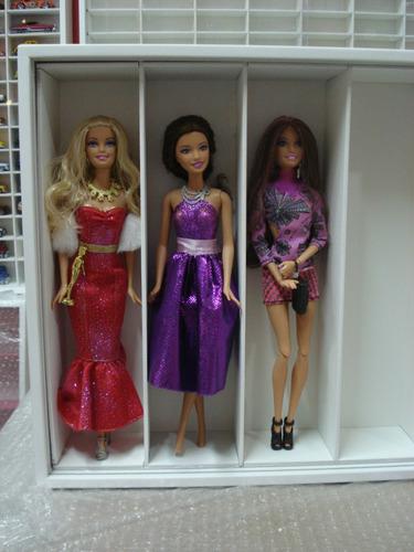 estante  barbie 10 nichos
