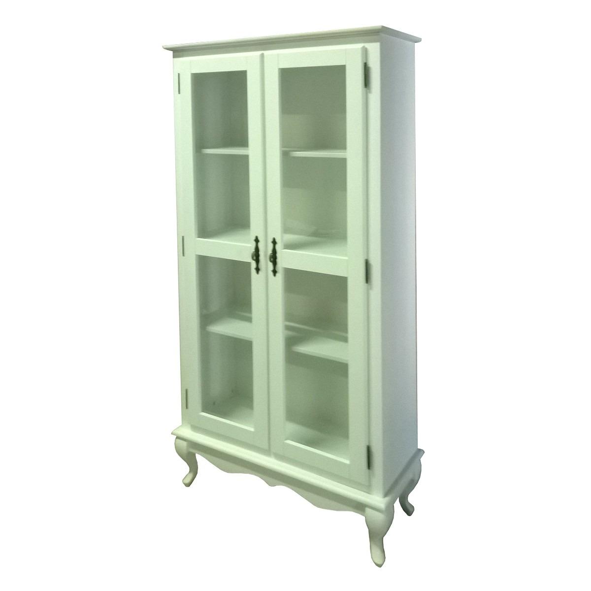 Estante Cristaleira Com Duas Portas De Vidro - R$ 703,50 em Mercado ...