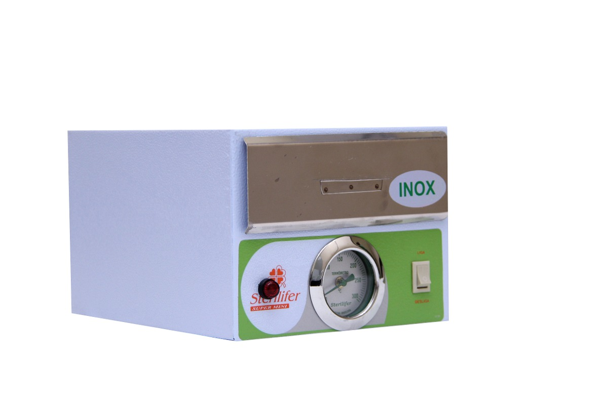 Estufa para manicure interior em inox esteriliza o 180 c - Estufas para interior ...