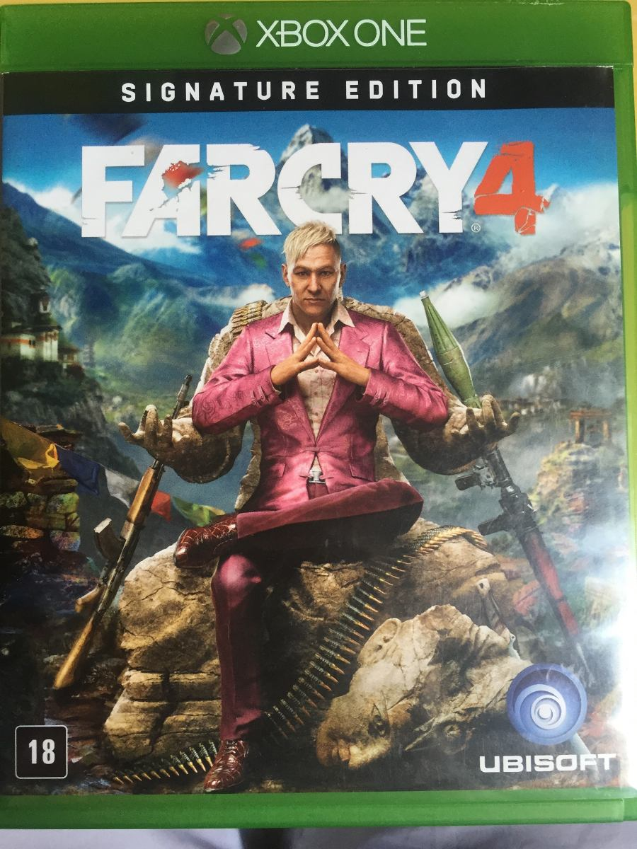 far cry 4 signature edition xbox one m dia f sica r. Black Bedroom Furniture Sets. Home Design Ideas