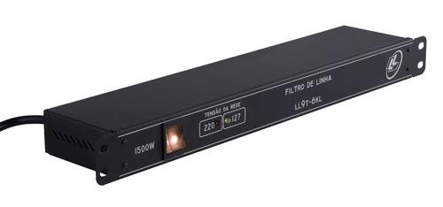 filtro de linha - ll 9t-6kl - com led indicador de voltagem