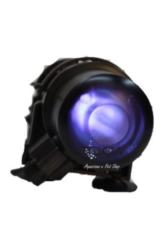filtro uv hopar 05w para aquários e lagos ultra violeta