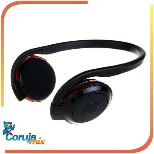 fone de ouvido estéreo bluetooth bh-503 - recarregável usb