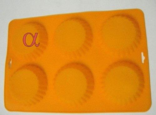 forma de silicone redonda c/6lugares nota fiscal e garantia