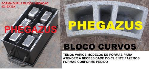 forma manual para fabricar blocos de concreto