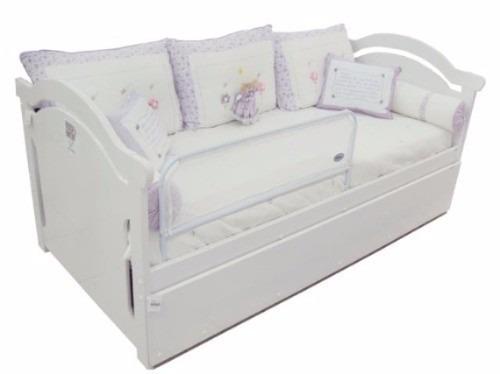 Grade de cama com tela prote o seguran a para seu beb - Camas para bebe ...