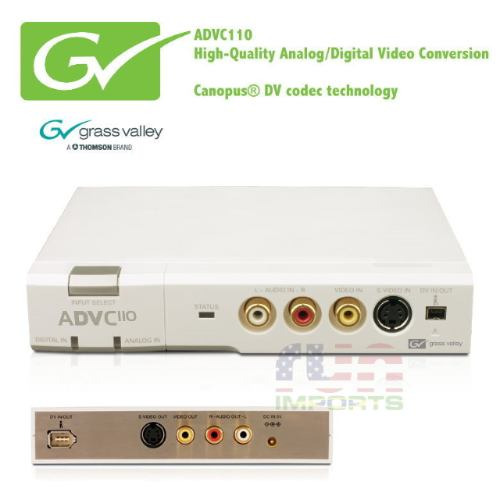 grass valley advc110 advanced digital video converter