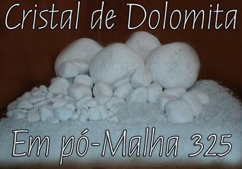 grão / pó de cristal de dolomita - malha 325 - super fino!
