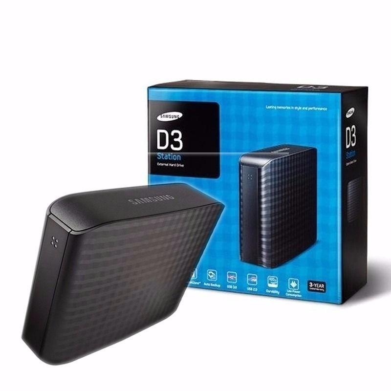 Hd Externo 3tb Samsung D3 Station Usb 3 0 E 2 0 Original