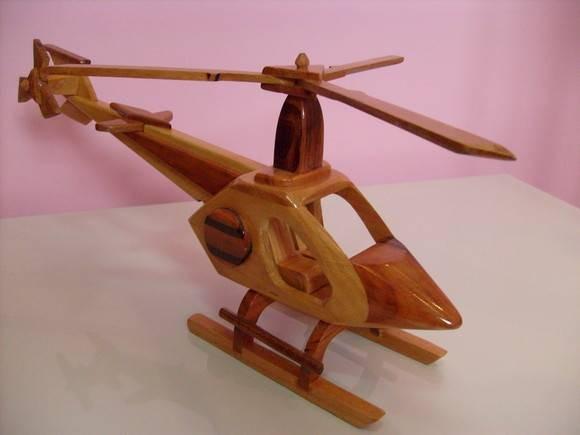 Wakan Wood Artesanato Xamânico ~ Helicóptero De Madeira Por Rs 24,00 Reais (artesanato) R$ 30,00 em Mercado Livre