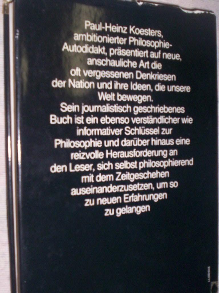 Historia Da Filosofia E Pensadores Alemães - R$ 80,00 em Mercado ...