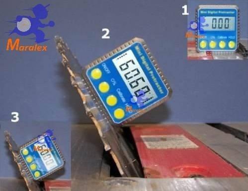 inclinômetro digital medição de nível ideal para antenistas