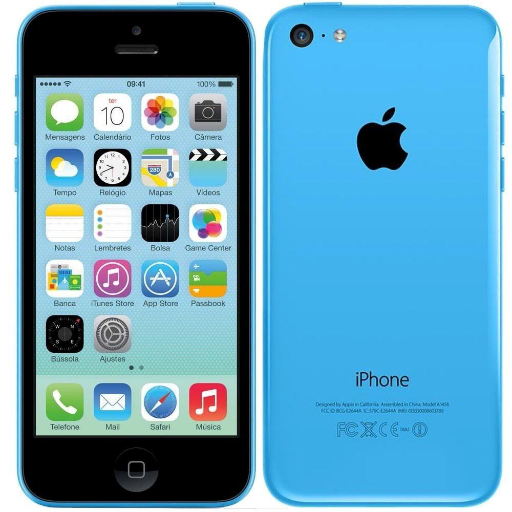 Funda Iphone S Azul
