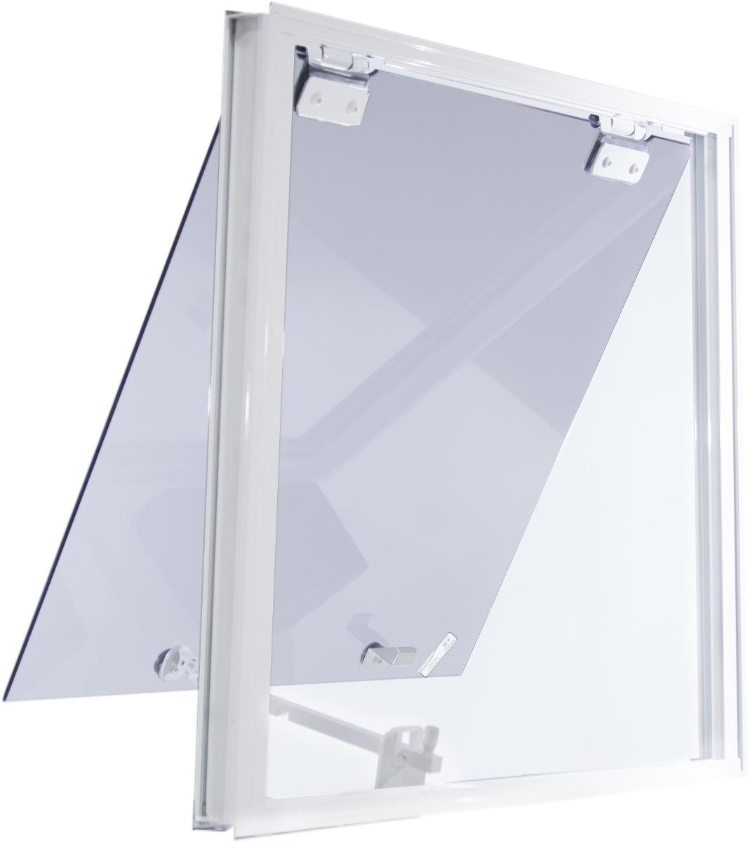 Jenela Maxiar 600x400 Tipo Blindex Aluminio Branco Verde R$ 189 00  #313147 1069 1200