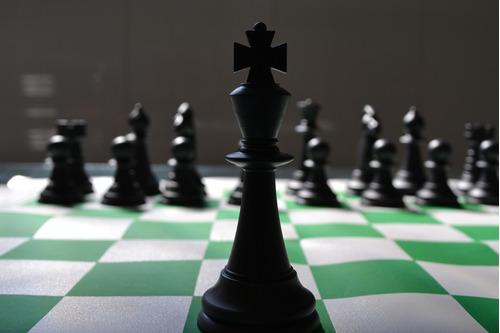 jogo de xadrez - oficial - números e letras nas bordas