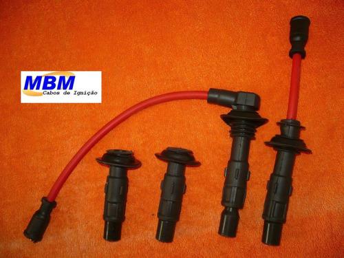 kia sportage - cabos de velas + terminais das bobinas
