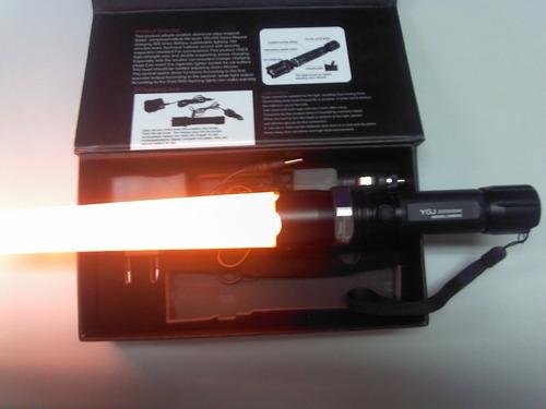 kit lanterna tatica 22000 w 48000 lumens promoção + garantia