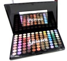 kit maquiagem jasmyne com 88 cores de sombras