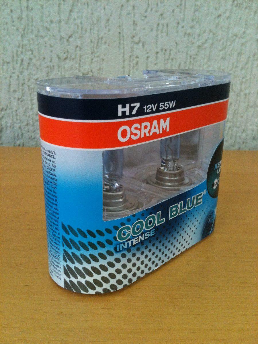 lampada osram cool blue intense h7 farol 4200k r 176 00 em mercado livre. Black Bedroom Furniture Sets. Home Design Ideas