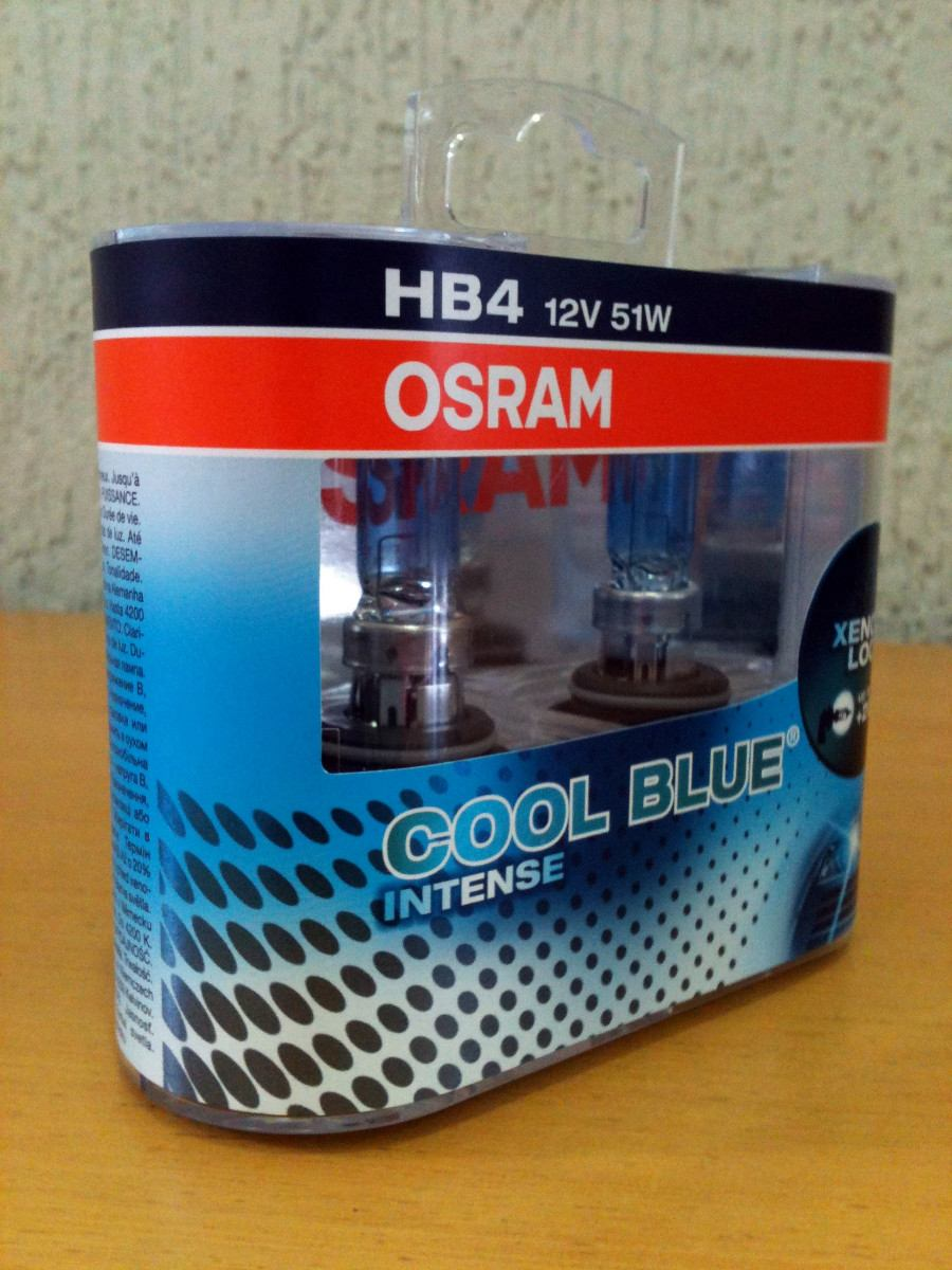 lampada osram cool blue intense hb4 farol 4200k super. Black Bedroom Furniture Sets. Home Design Ideas