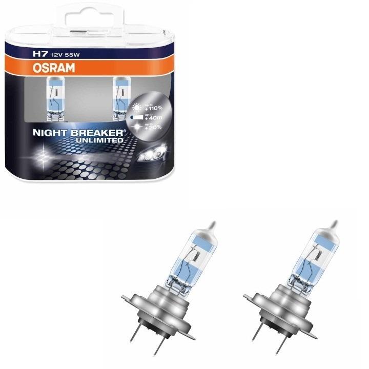 lampada osram night breaker unlimited h7 h1 h11 r. Black Bedroom Furniture Sets. Home Design Ideas