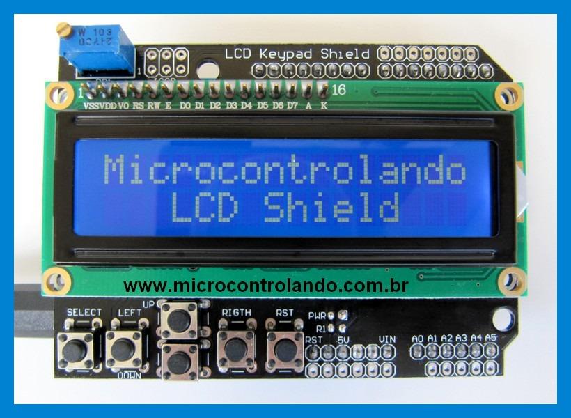 Arduino lcd keypad shield (sku: dfr0009) robot wiki in 2020.