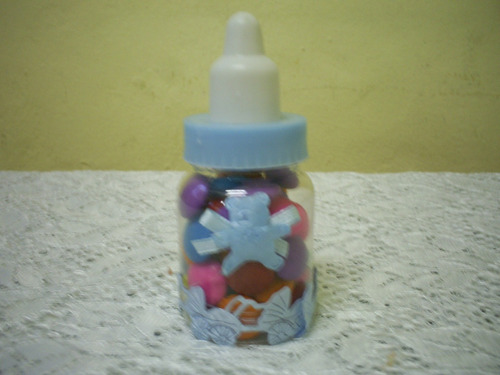lembrancinhas maternidade mamadeira de acrilico chá de bebe