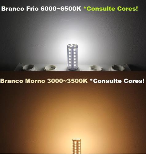 lâmpada led 12w bi-volt 110v-220v equivale a 70w 1200 lumens
