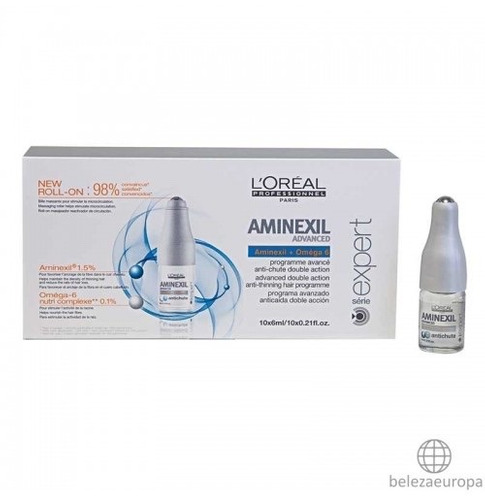 loreal ampolas aminexil anti queda 10 ampolas caixa r 170 00 em mercado livre. Black Bedroom Furniture Sets. Home Design Ideas