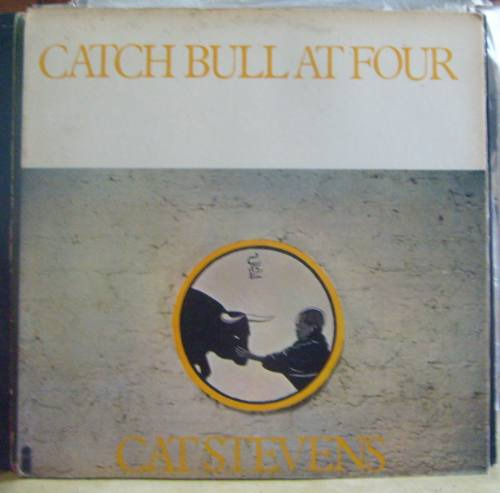 lp cat stevens - catch bull at four - capa álbum.