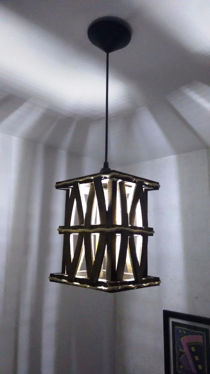 Luminária De Teto Lustre Rustico Sala Quarto R$ 89,00 em