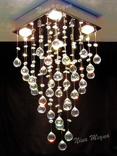 lustre de cristal egípcio asfour e334 - cristais autênticos
