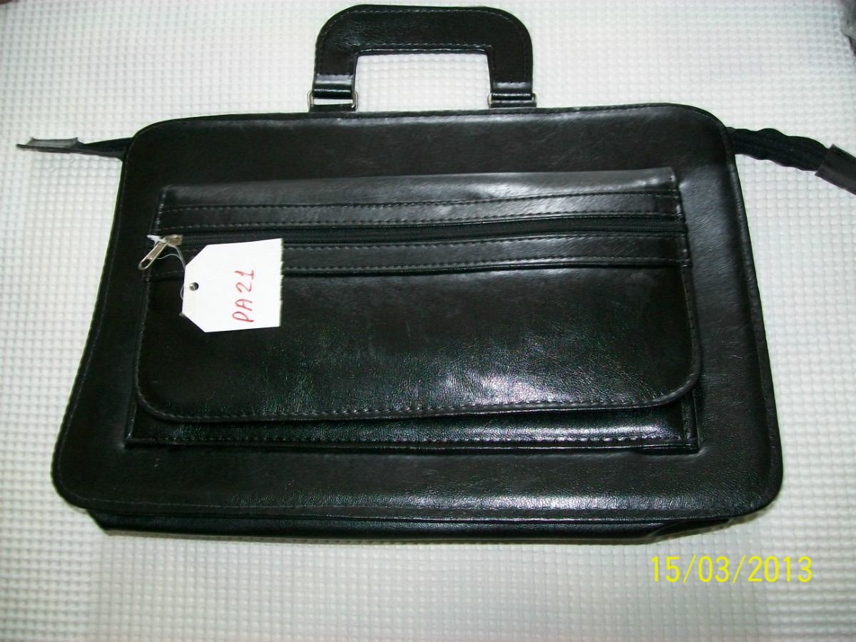 Bolsa De Couro Masculina Mercado Livre : Bolsa executiva pasta masculina valise social couro sint