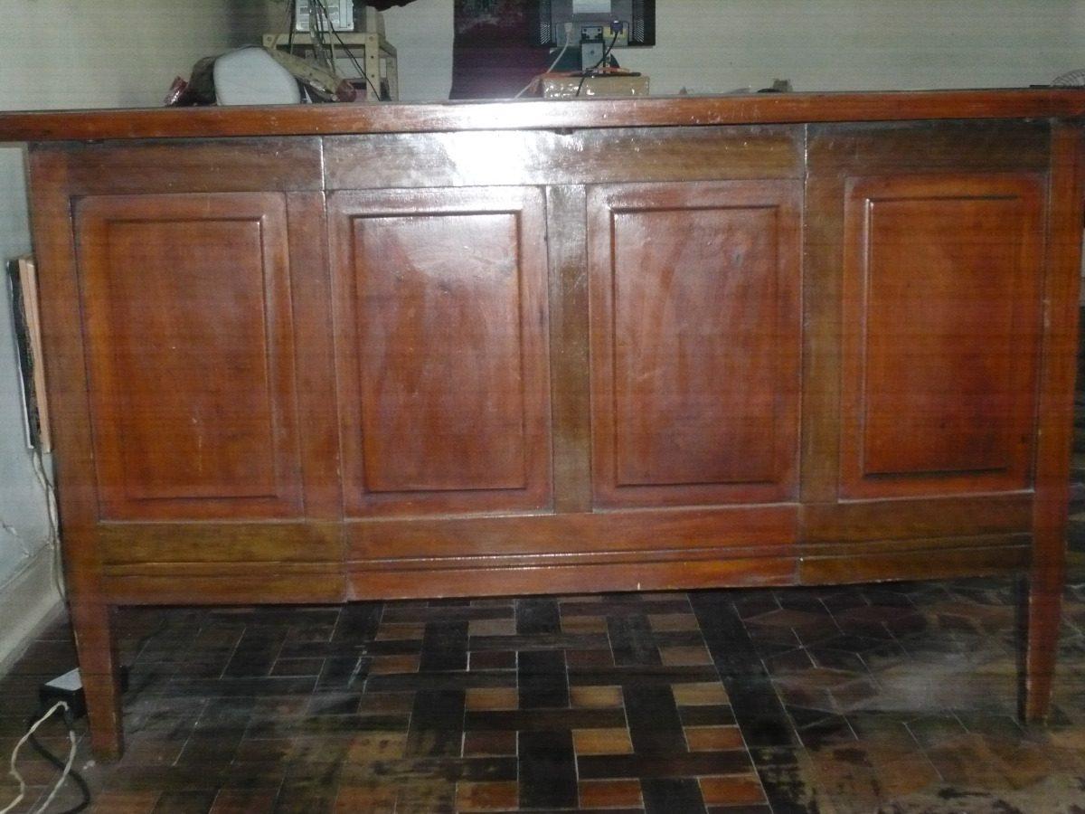 Mesa De Escritorio Antiga Madeira De Lei R$ 1.000 00 em Mercado  #6E4028 1200x900