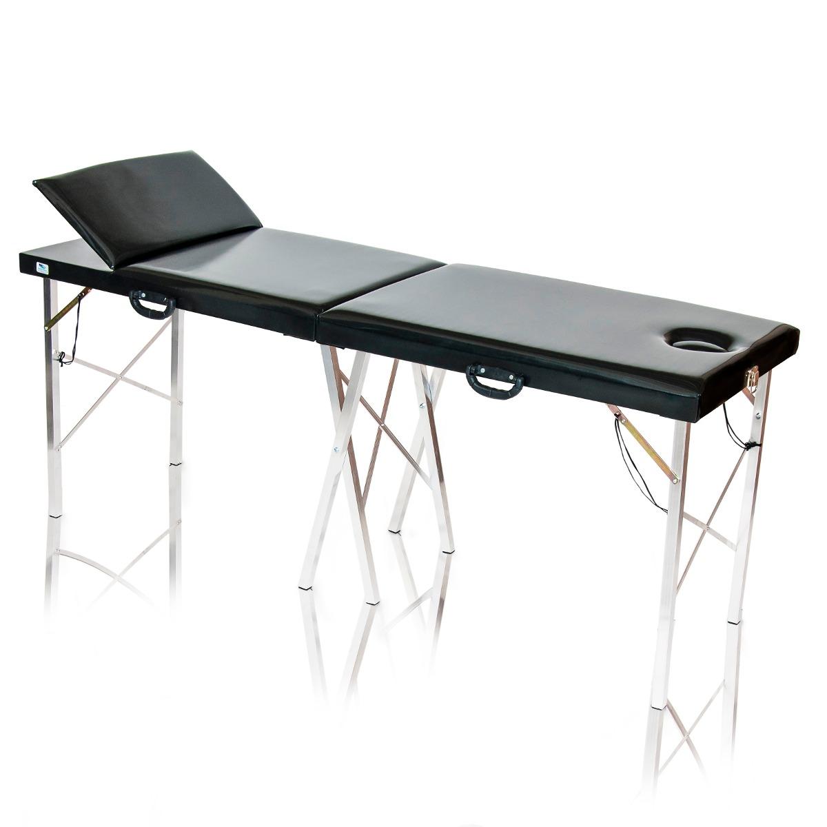 Mesa de massagem dobr vel div maca port til reclin vel - Mesa de portatil ...