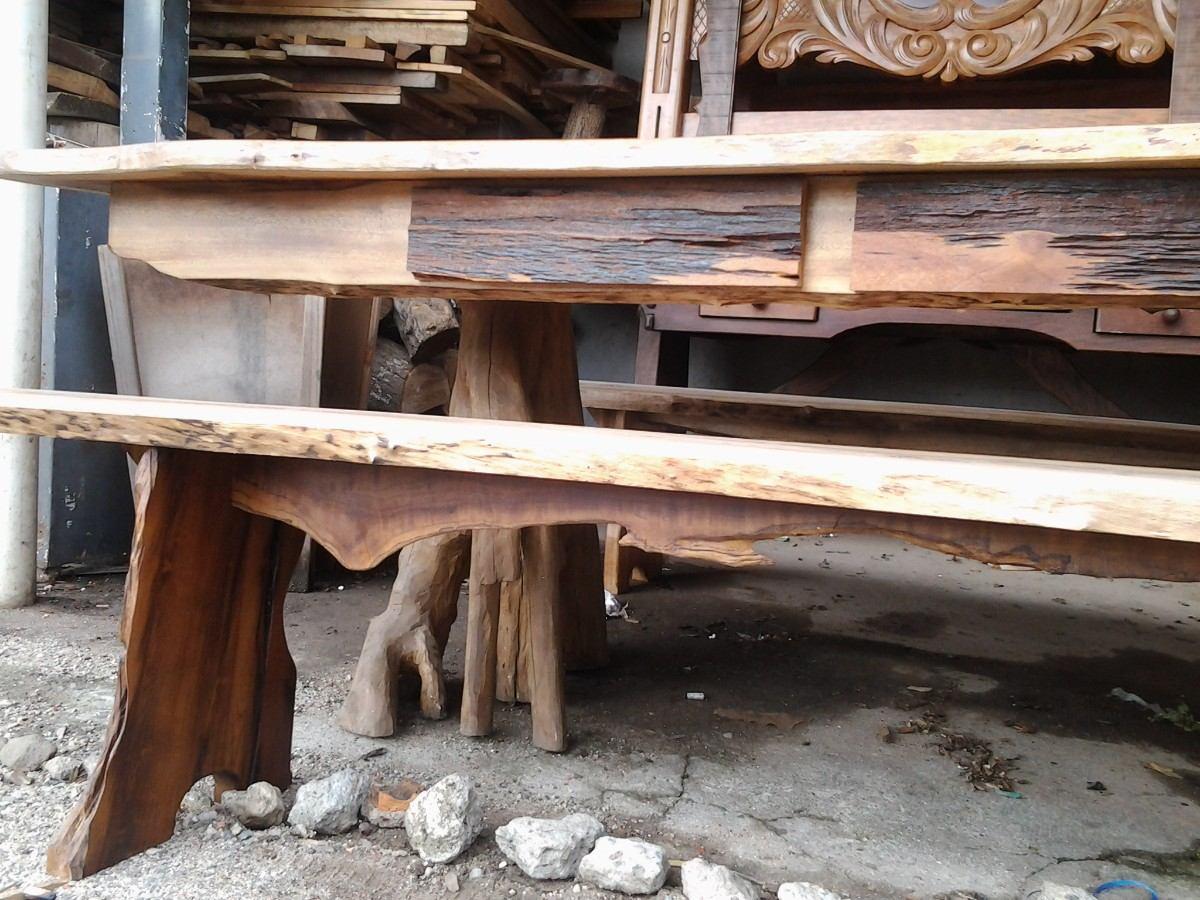 Mesa Rústica De Canela – R$ 2.200,00 Em Mercado Livre~ Mesa Para Jardim Mercado Livre