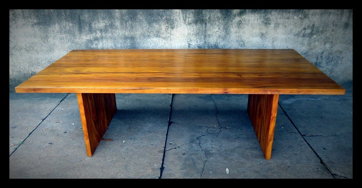 Mesas Montada Sob Medida  Madeira Antiga  R$ 2500,00 em Mercado Livre # Cozinha Decorada Com Mesa De Madeira