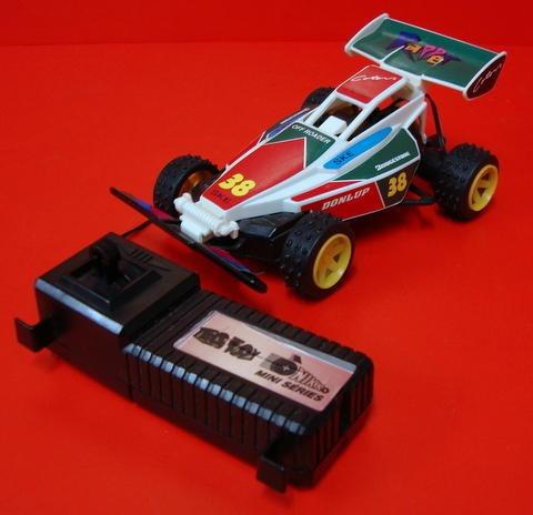 mini off roader - tec toy + nikko mini séries controle c/ fi