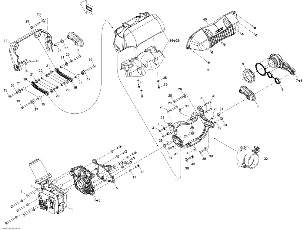 Modulo Ibr Sea Doo Brp Rxp X Rxt X Gtx Gti Gtr278003122