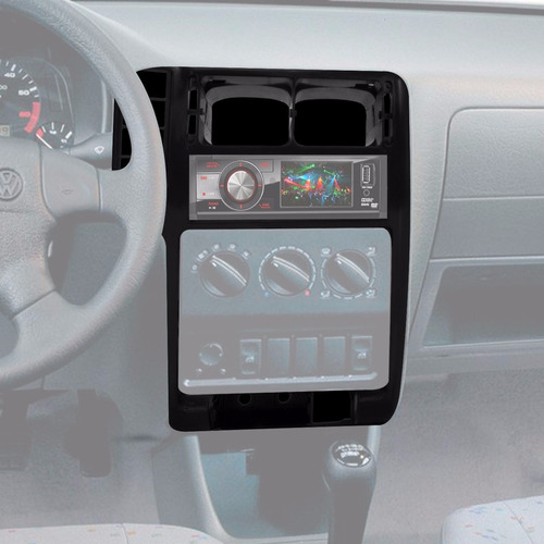 moldura central painel do radio polo classic e seat cordoba